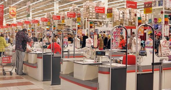 Retail check out shopper feedback