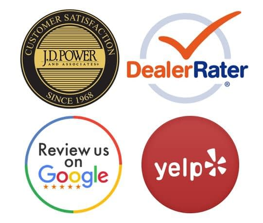 Auto dealer social media feedback review sites