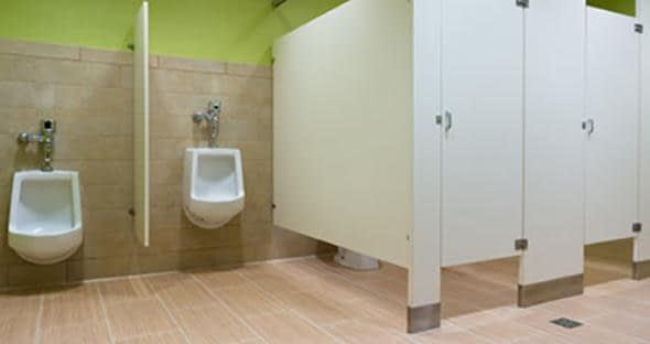 Airport restroom feedback and alerts by cell phone