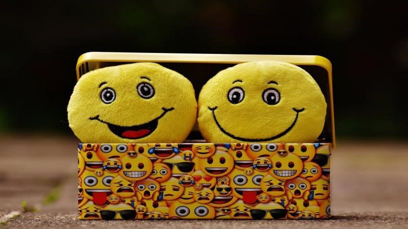 Customer Feedback Comments Through Smiley Faces