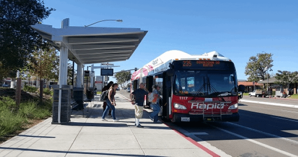 Bus Stop request for rider feedback
