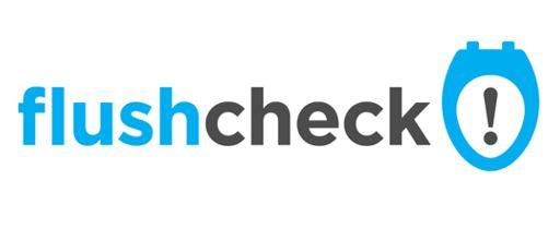 Flushcheck restroom feedback logo