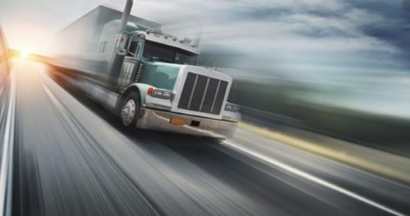 Speeding Truck