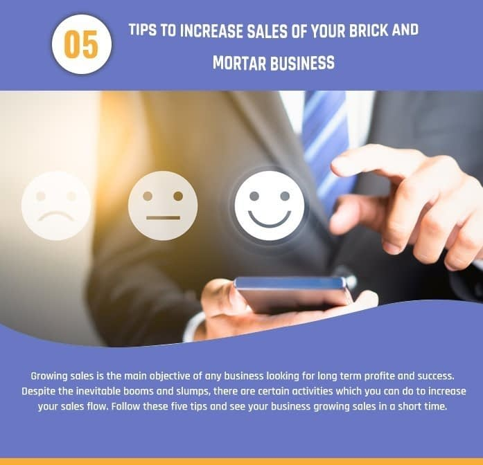 Infographic: 5 Ways To Boost Sales of a Brick and Mortar Retailer