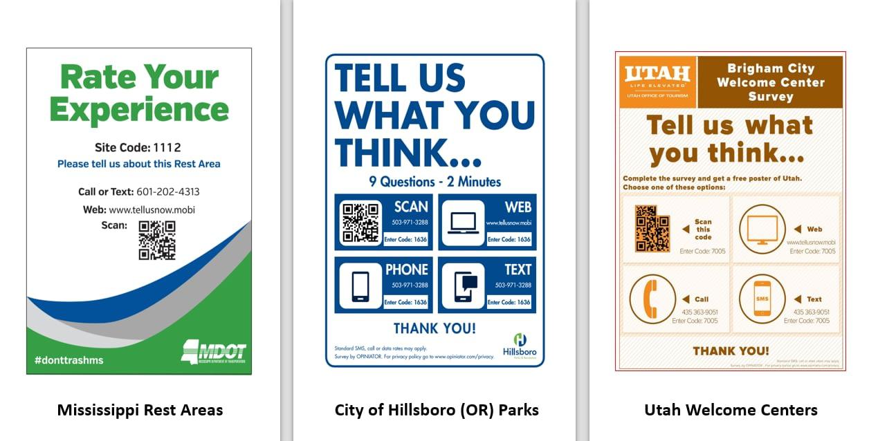 Digital Comment Card Signage