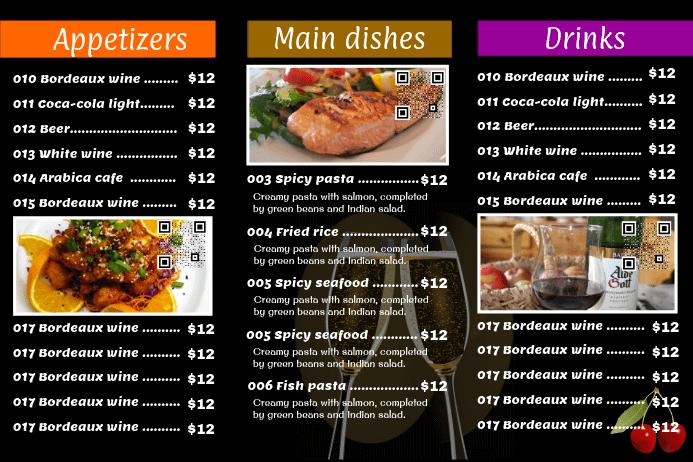 Customer Feedback of restaurant menu offer via Cell Phone
