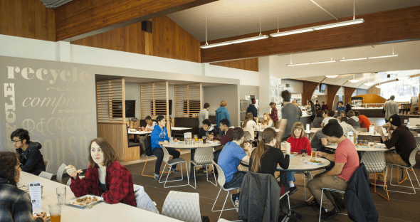 Student feedback on dining services