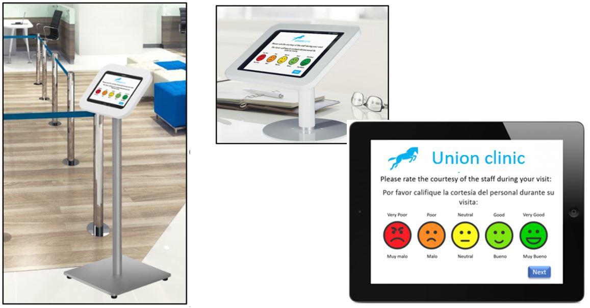 Patient feedback via tablet