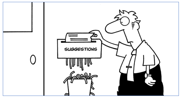 Replace the Suggestion Box