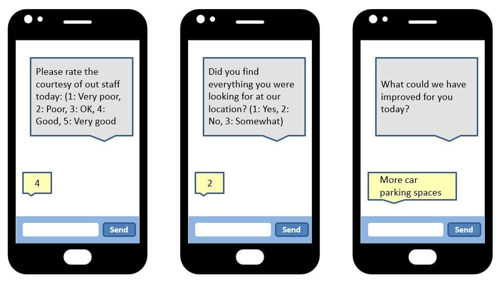SMS Survey Question Examples